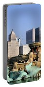 Buckingham Fountain - 4 Portable Battery Charger