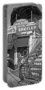 Bud'd Broiler New Orleans-bw Portable Battery Charger
