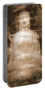 Buddha And Ancient Tree Portable Battery Charger