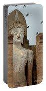 Buddha At Sukhothai Portable Battery Charger