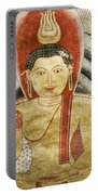 Buddha Painting In Sri Lanka Portable Battery Charger