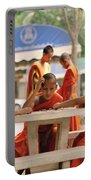 Buddhist Childhood Portable Battery Charger
