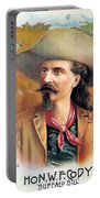 Buffalo Bill Cody, C1888 Portable Battery Charger