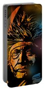 Buffalo Headdress Portable Battery Charger