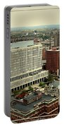 Buffalo New York Aerial View Portable Battery Charger