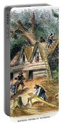 Building Houses, 17th C Portable Battery Charger