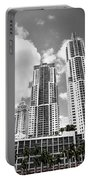 Buildings Downtown Miami Portable Battery Charger