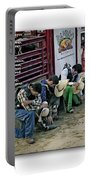 Bull Riders Prayer - With Prayer Text Portable Battery Charger