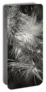 Bull Thistle Monochrome Portable Battery Charger