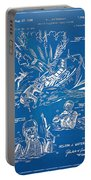 Bulletproof Patent Artwork 1968 Figures 18 To 20 Portable Battery Charger