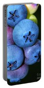 Bunch Of Blueberries Portable Battery Charger