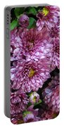 Bunch Of Chrysanths Portable Battery Charger
