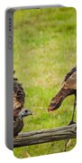 Bunch Of Turkeys Portable Battery Charger