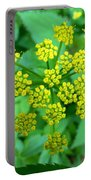 Burst Of Flowers Portable Battery Charger