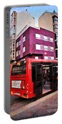 Bus Stop - La Coruna Portable Battery Charger