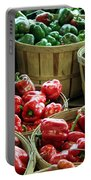 Bushels Of Green And Red Portable Battery Charger