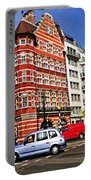 Busy Street Corner In London Portable Battery Charger