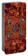 Buttercup Vascular System Portable Battery Charger by M I Walker