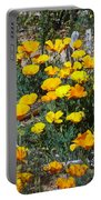 Buttercups In The Desert Portable Battery Charger