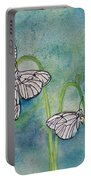 Butterflies Hanging Out Portable Battery Charger