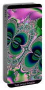 Butterflies On Parade Fractal 123 Portable Battery Charger