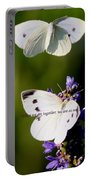 Butterfly - Cabbage White - As One Portable Battery Charger