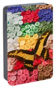 Butterfly And Buttons Portable Battery Charger