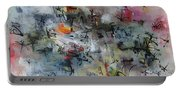 Butterfly And Dragonfly Paintings Portable Battery Charger