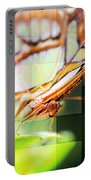 Butterfly Frosted Glass Portable Battery Charger