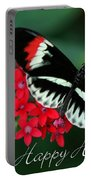 Butterfly Holiday Card Portable Battery Charger