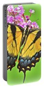 Butterfly In Candyland Portable Battery Charger
