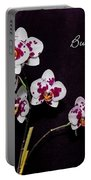 Butterfly Orchid Portable Battery Charger