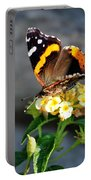 Butterfly Sipping Lantana Luscious Lemonade   Portable Battery Charger