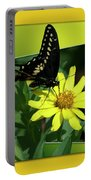 Butterfly Swallowtail 01 16 By 20 Portable Battery Charger