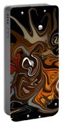 Butterfly Swirl Portable Battery Charger