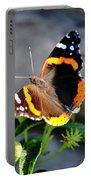 Butterfly Tai Chi On Lantana Luscious Lemonade Portable Battery Charger