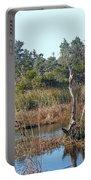 Buxton Salt Marsh - Outer Banks Nc Portable Battery Charger