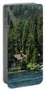 Cabins On The Lake Tahoe Portable Battery Charger
