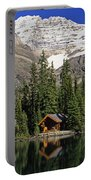 Cabins, Sargents Point, Lake Ohara Portable Battery Charger