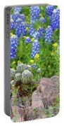 Cactus And Bluebonnets 2am-28694 Portable Battery Charger
