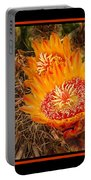 Cactus Flower 3 Portable Battery Charger