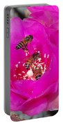 Cactus Flower Buzz Portable Battery Charger