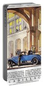 Cadillac Ad, 1927 Portable Battery Charger