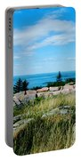 Cadillac Mountain Summit View Portable Battery Charger