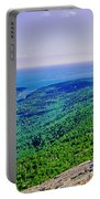 Cadillac Mt  Mt Desert Island Me Ocean View Portable Battery Charger