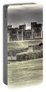 Caerphilly Castle Cream Portable Battery Charger