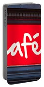 Cafe Sign Portable Battery Charger
