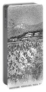 California: Vineyard, 1889 Portable Battery Charger