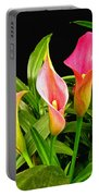 Calla Lillies Portable Battery Charger