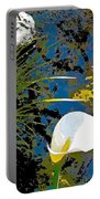 Calla Lily 7 Portable Battery Charger